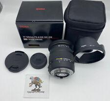 Zoom Sigma x NIKON 17 50 mm f 2.8 EX DC OS HSM obiettivo fotografia obiettivo