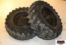 2006 Kawasaki Brute Force KUF750B Front Wheels Rims W/ 25X8-12 Tires 41009-0039
