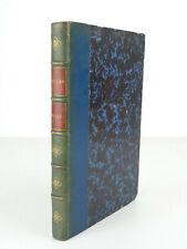 POESIES DE SCHILLER Traduction Marmier 1862 Charpentier Livre ancien relié