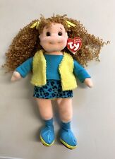 Pretty Patti Ty Beanie Boppers Doll New With Tags