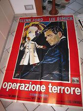 OPERAZIONE TERRORE,G. FORD,manifesto,Experiment in Terror,Remick,Edwards,E.BRINI