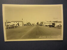 Old Vintage BLYTHE CA. - Texaco Gas Station - RPPC - Real Photo POSTCARD