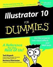 Illustrator 10 for Dummies (Paperback or Softback)