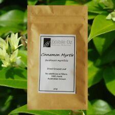 CINNAMON MYRTLE (Backhousia Myrtifolia) DRIED GROUND LEAF 'Bush Tucker Food'