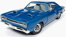 1969 Dodge Coronet R/T BLUE 1:18 Auto World 1116