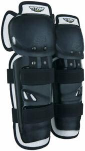 NEW Fox Racing Titan Sport Knee/Shin Guard - Black One Size