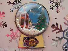 2015 Hard Rock Cafe Atlantic City Holiday Snowglobe/State Flag Series Pin