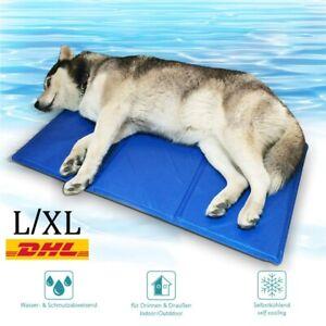 Tapis de Refroidissement Abkühlung Chiens Hundekühlmatte Été Oreiller M/L/XL