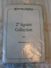"""Keepsake Quilting 2"""" Square Collection 300 Pieces"""