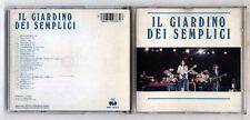 Cd IL GIARDINO DEI SEMPLICI Omonimo Same - CGD 1978 Successi Best of