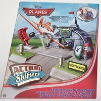 Disney Planes Action Shifters Skipper Flight School Playset Toy