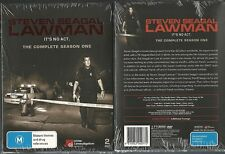 STEVEN SEAGAL LAWMAN IT'S NO ACT THE COMPLETE SEASON ONE GREAT NEW DVD SET