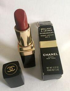 Chanel Hydrasoleil  sheer lipstick spf 6  In Wild Honey #12 new in box