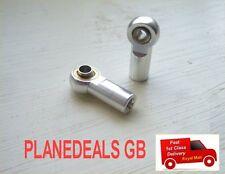 10pcs SILVER Aluminium Rod Ball End M3 thread for all 1/10 RC Crawler, SCX10  N4