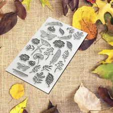 Transparent Silicone Stamp Seal Scrapbooking Diary Christmas Photo Cards DIY