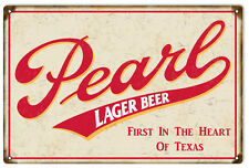 Peral Lager Beer Bar And Restaurant Sign