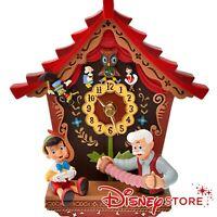 Disney Pinocchio 80th Wall Clock Pinocchio Disney Store Japan freeeshipping