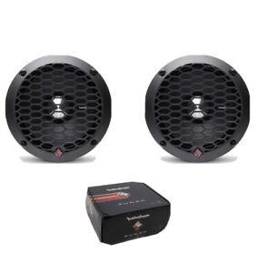 "Pair of Rockford Fosgate Punch 400W Pro 6.5"" 4-Ohm Midrange Loudspeaker PPS4-6"