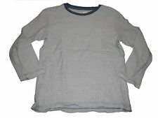 H & M tolles Langarm Shirt Gr. 110 / 116 blau-weiß gestreift !!