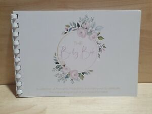The baby book, Baby Guest Prediction book, A5 size book