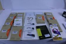 Wholesale Lot of 21 Cell Phone Glass Screen Protectors Multi Models Compatible B