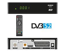 Edision Proton LED DVB-S2 Receiver Full HD FTA-Sender 1080p USB HDMI B-Ware