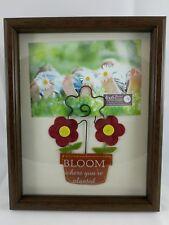 flower pot 4x6 wooden photo frame