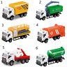 13:43 course vélo camion jouet porte-ordures camion miniatures moulées jouet  I