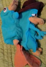 Phineas and Ferb Transforming Agent P Perry the Platypus plush reversible