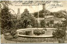Ancient Ak, Auerbach in Vogtland, View from the Schulanlagen Nach Der City