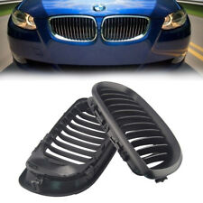 2x Front Black Kidney Grilles Grill for BMW E46 3Series 4Door 2002-2005 Facelift
