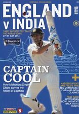 * 2014 - ENGLAND v INDIA 3rd TEST (MS DOHNI COVER) CRICKET PROGRAMME *