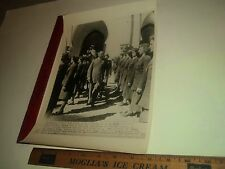 Rare Historical Original VTG WWII French Com Gen Henri Giraud Reviews WACS Photo