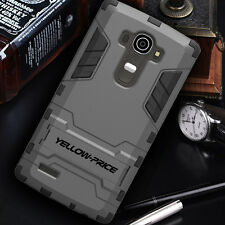 FOR LG G4 Shockproof protective Armor Case KickStand Cover Slim Dual Layers 2015