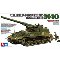 Tamiya 35351 U.S. Self-Propelled 155mm Gun M40 1/35