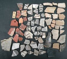 Pre-Colombian Artifacts Pottery Shards 60+ Rare Shards 800 year old Fingerprints