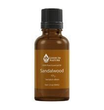 Sandalwood Essential Oil CO2 100% Pure Natural Aromatherapy Good In Nature 30mL
