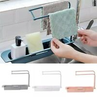 Telescopic Sink Rack Holder Expandable Storage Drain Basket Kitchen Best Tool