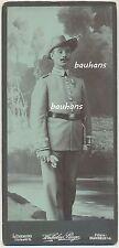 Kabinettfoto Soldat-Ordensspange Schutztruppe Afrika DSWA (c829)