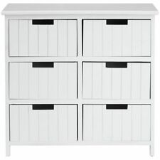 MDF/Chipboard Contemporary 6 Chests of Drawers