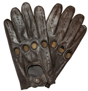 Driving Gloves   Genuine Leather   Perfect Fit   Premium Quality   Soft Leather
