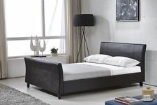 Leather Memory Foam Medium Beds with Mattresses