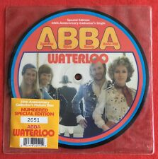 "ABBA -Waterloo- Rare UK 7"" 30th Anniversary Picture Disc Numbered (Vinyl Record)"