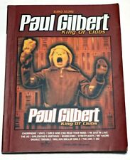 Paul Gilbert King Of Clubs Japan Band Score Book Guitar Tab