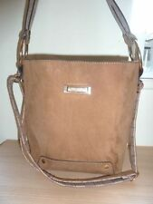 River Island Patternless Suede Outer Handbags