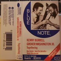 Kenny Burrell Grover Washington Togethering Blue Note Cassette Tape XDR