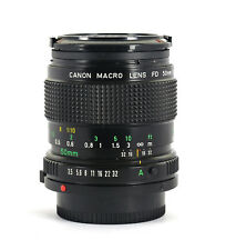 CANON MACRO LENS 50mm f3.5. CAPS & UV FILTER. EXCELLENT. FOR A-1, AE-1 PROGRAM.
