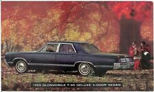1965 Oldsmobile F-85 Deluxe 4-Door Sedan Automobile Advertising Postcard