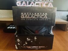 Battlestar Galactica: The Complete Series + Collectible Cylon Figure 25 DVDs