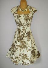 AUTHENTIC ELEGANT KAREN MILLEN DRESS SIZE 10 ROMANTIC GARDEN STUNNING DRESS